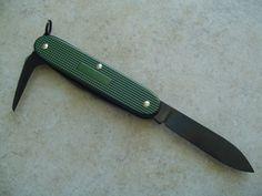 Victorinox OD Green Alox, Black Tool Pioneer 38 of 50 made