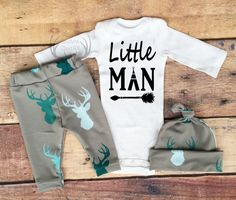 Baby Boy Coming home OutfitLittle by TheSouthernCloset101 on Etsy