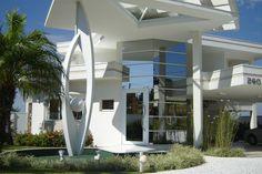 Decor Salteado - Blog de Decoração e Arquitetura : 40 Fachadas de casas modernas e esculturais maravilhosas!