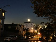 Moon over The Mission