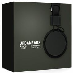 Type Text and Meaning - where as black on black would not usually work they have made this packaging aesthetically pleasing buy adding a light source behind the image. the white sans serif text is positioned well and matches the design of the headphones.