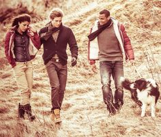 Relaxed Style with friends. Fall Winter, Autumn, Menswear, Mens Fashion, Guys, Couple Photos, Catalog, Ireland, Campaign