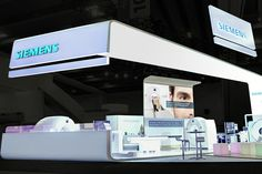 Siemens stand at ASTRO 2014 by Catalyst, San Francisco   California trade fairs