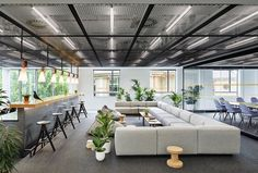 Employees give meaning to Hyundai Capital's UK HQ - News - Frameweb Corporate Office Design, Open Office Design, Corporate Interiors, Office Interior Design, Office Interiors, Office Designs, Corporate Offices, Corporate Business, Modern Interior