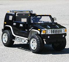 lisensed hummer black battery operated ride on car toy with remote control 12v model 2016 cars for kidskids