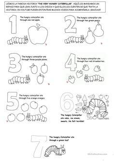 außergewöhnlich schön - malvorlagen von designern für kinder | lieder für vorschulkinder, raupe