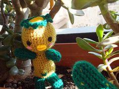 ¡Qué te parece! Tenemos un Kappa en el jardín :D