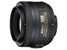 The AF-S DX Nikkor 35mm f/1.8G optical design allows a different look and feel to images taken with zoom lenses, and its dimensions are ideal for discrete snapshots and landscape shooting with a picture angle that approximates that of the human eye. With its rounded seven-blade diaphragm opening, out-of-focus elements appear more natural. When mounted on a DX-format SLR, the picture angle is the 35mm equivalent focal length of 50mm.what's in the box: Nikon AF-S Nikkor 35mm f/1.8G DX Lens…