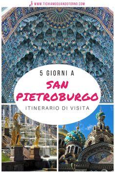 Elegante, grandiosa, opulenta, bellissima. Ecco un'itinerario di 5 giorni a San Pietroburgo che tocca le principali zone e attrazioni, un percorso adatto a una prima volta in città.