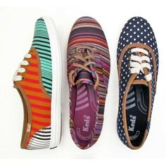 Love these keds! Especially the navy polka dot ones.