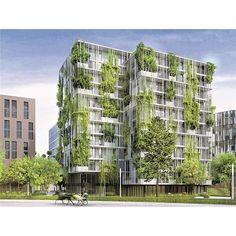 """Mit begrünten Fassaden und Dächern wollen Städte den Folgen des Klimawandels trotzen. Beim ersten """"European Urban Green Infrastructure""""-Kongress trafen sich dazu Städteplaner aus ganz Europa im Rathaus."""