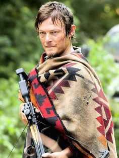 Daryl Dixon the walking dead  We need these for our next zombie shoot out!!!