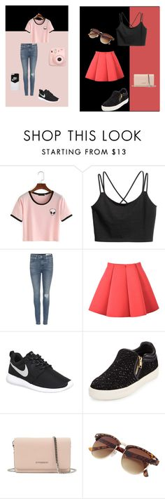 x type by alexia2101 on Polyvore featuring mode, rag & bone, Ash, NIKE, Givenchy and Fuji