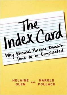 Can you condense your financial plan to an index card? Keep it simple and learn how to build and maintain a simple investing strategy with The Index Card by Helaine Olen. Index Cards, Screwed Up, Book Summaries, Financial Planning, Writing A Book, Summary, Personal Finance, Self Help, Books To Read