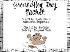 groundhog day packet freebie