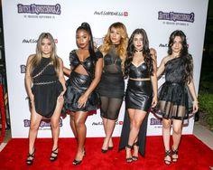 Fifth Harmony vamp it up as they hit the Hotel Transylvania 2 gala screening