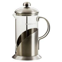 Enjoy a rich morning pick-me-up with this sleek French press, an essential addition to your coffee service.  Product: French pre...