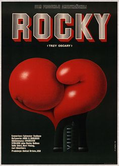 Polish Rocky movie poster