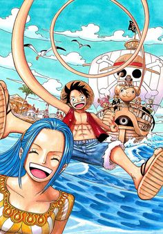 [One Piece] Artwork : Mugiwara ! ♥ | Flickr - Photo Sharing!