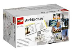 Lego targets architects with monochrome building set.