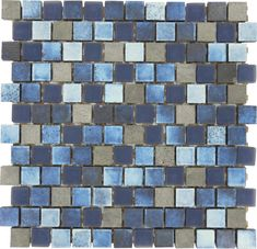 Lunar Dark Blue Blend x Glass and Stone Pool Tile Rock swimming pools concepts incorporate timeless products with contemporary layouts to bring your Glass Pool Tile, Blue Glass Tile, Blue Subway Tile, Glass Subway Tile, Blue Tiles, Mosaic Glass, Mosaic Backsplash, Mosaic Tiles, Kitchen Backsplash