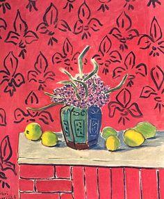 Henri Matisse- Still Life with Lemons (1943)