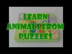 Learn Animal Names from Puzzles