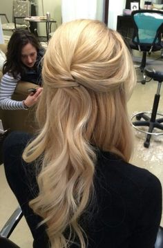 Hair for bride