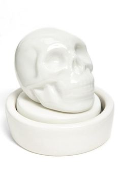 Sugar skull stamp.