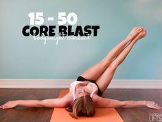 15 - 50 core blast {bodyweight workout}    lushiouslifts.com