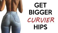 ❤️ How To Get Bigger Hips | 4 Workouts For Wider Curvier Hips!