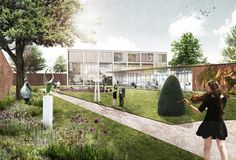 Marc Koehler Wins Competition to Design Edegem Community Center and Library | ArchDaily