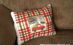 diy a decorator style pillow on the cheap, crafts, repurposing upcycling
