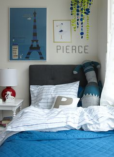 for the boy bed - NYC Land of Nod