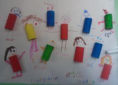 First Day Of School, Kindergarten, Triangle, Classroom, Creative, Blog, Crafts, Educational Activities, Health