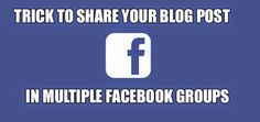 How To Post Multiple Facebook Groups In A Single-Click? - 2020TechBlog