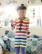Stripy Knitted Dress