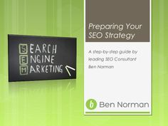 Preparing An SEO Strategy