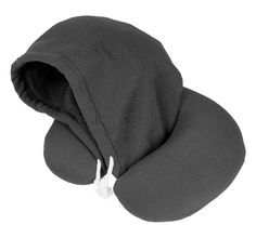 travelstar Hoodie Travel Neck Pillow, Navy: Amazon.co.uk: Kitchen & Home