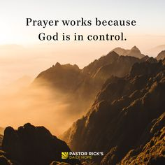 """Have you ever wondered if prayer really works? Maybe Satan has whispered to you, """"Prayer is a waste of time. Forget it! Who do you think you are? What do you think you're doing? God … Continue reading How Does Prayer Work? 40 Days Of Prayer, God Prayer, Bible Verses Quotes, Bible Scriptures, Scripture Verses, Faith Quotes, Christian Warrior, Rick Warren, Verses For Cards"""