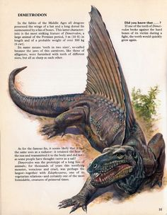 prehistoric creatures Love in the Time of Chasmosaurs: Vintage Dinosaur Art: Private Lives of Animals: Prehistoric Animals - Part 2 Prehistoric Dinosaurs, Prehistoric World, Prehistoric Creatures, Dinosaur Facts, Spinosaurus, Animal Bones, Ecole Art, Extinct Animals, T Rex