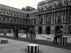 Paris by Fabrice Denis on 500px Paris - Cour du Palais Royal - Les colonnes de Buren