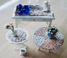 Tutorial - How to tune a miniature mosaic furniture