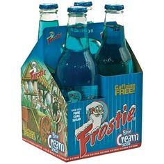Frostie Blue Cream Soda, 12 fl oz, 4 ct. (Pack of 6) - Walmart.com