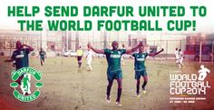 Against all odds, we have an all-refugee soccer team training and ready to represent Darfur at the ConIFA World Football Cup in Ostersund, Sweden at the end of this month. We will take them from remote camps in Eastern Chad to the capital this coming week, but we are short on funds to then fly them to Europe.