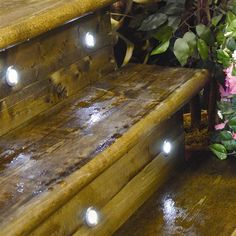 Outdoor Steps Garden Lighting