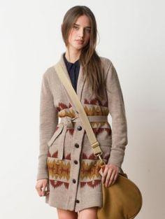 Pendleton Woolen Mills: SONORA JACQUARD CARDIGAN