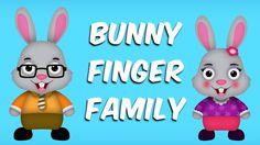 The Finger Family Bunny Family Nursery Rhyme | Bunny Finger Family Songs | Daddy Songs