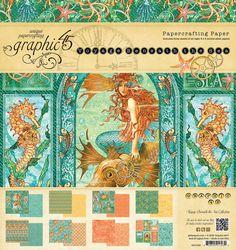 Graphic 45 Voyage Beneath the Sea 8x8 Paper Pad #Graphic45
