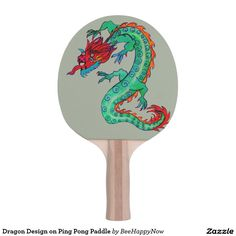 Customizable Ping Pong Paddle made by Hampton Technologies. Ping Pong Paddles, Dragon Design, Your Design, Create Your Own, Two By Two, Print Design, Prints, Print Layout, Printmaking